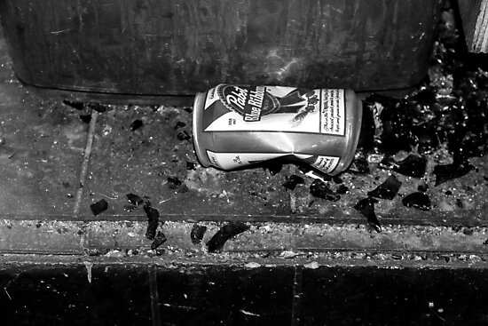 Still Life with Pabst Blue Ribbon by Nevermind the Camera Photography