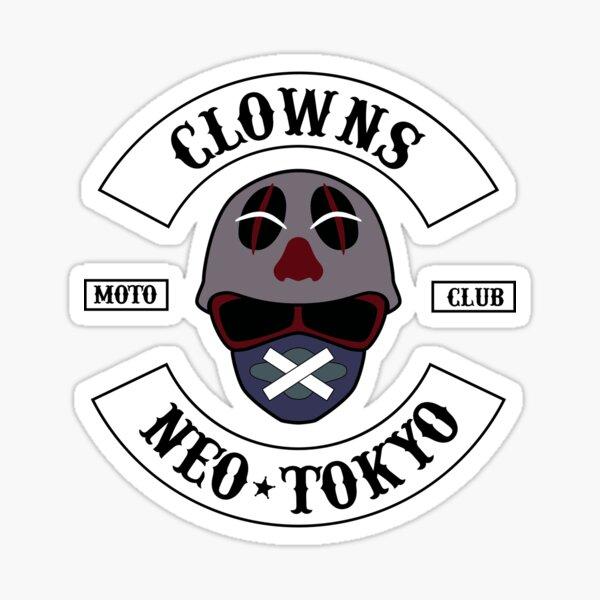 The Clown Motorcycle Club - Neo Tokyo (Akira) Sticker