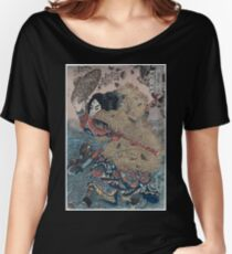 Kinhyōshi yōrin hero of the Suikoden 01789 Women's Relaxed Fit T-Shirt