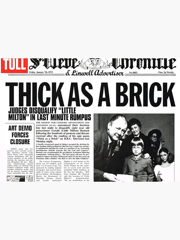 Jethro Tull - Thick As A Brick by Lightning-63