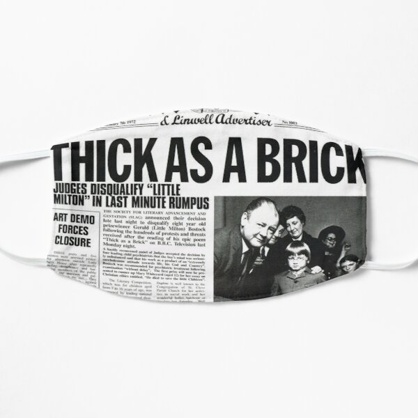 Jethro Tull - Thick As A Brick Mask