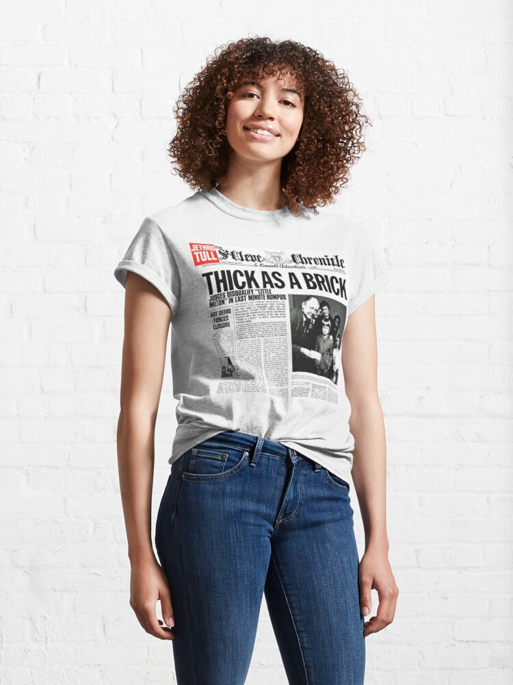 Alternate view of Jethro Tull - Thick As A Brick Classic T-Shirt