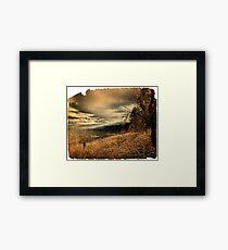 Okanagan Lake  Framed Print