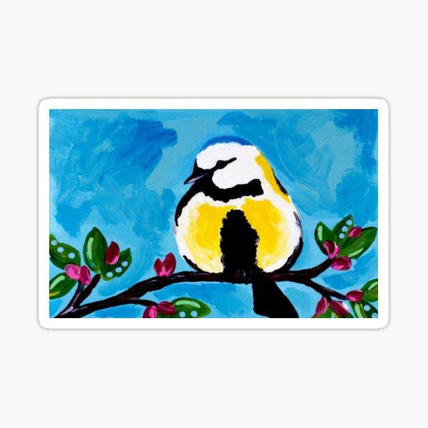Bird Blue Sticker