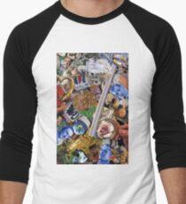 Psychotronic Psilliness Men's Baseball ¾ T-Shirt