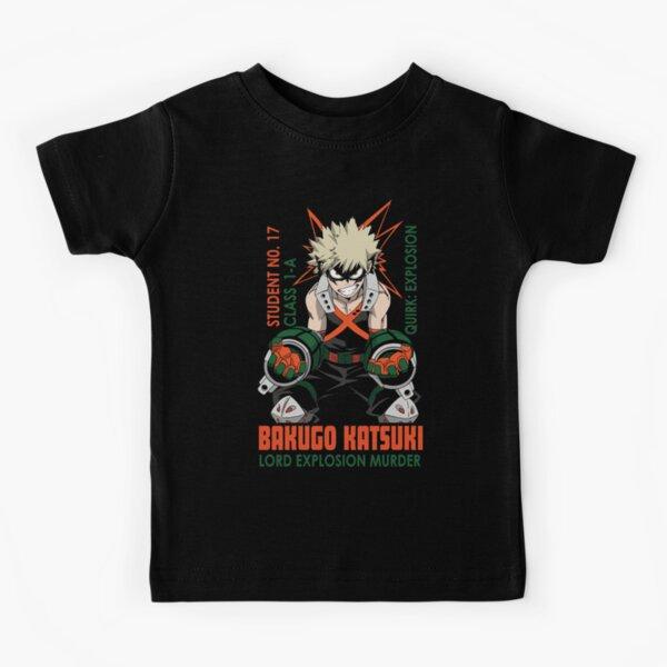 Bakugo Katsuki   Boku no hero academia Camiseta para niños
