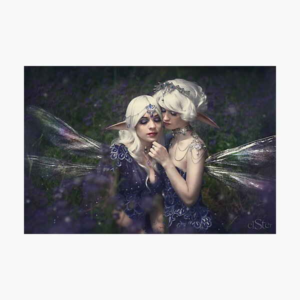 Elves in the bushes Photographic Print