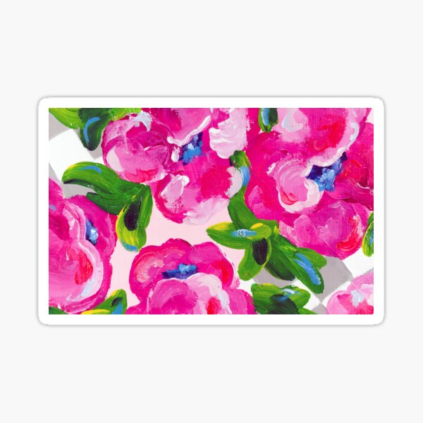 Blossoming 2 Sticker