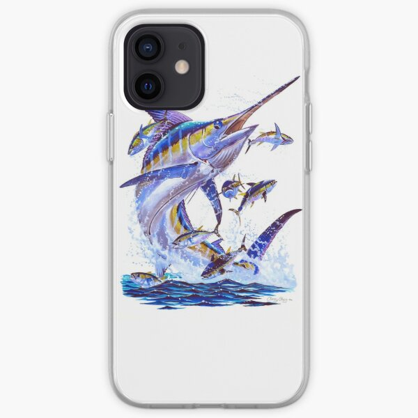 blue marlin and tunas iPhone Soft Case