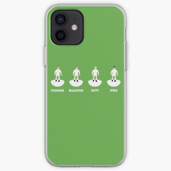 LUFC Midfield 4: Strachan, McAllister, Batty, Speed iPhone Soft Case