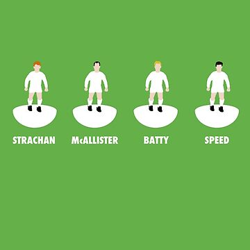 LUFC Midfield 4: Strachan, McAllister, Batty, Speed by KenDeMange