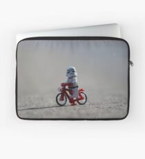 Bicycle Stormtrooper Laptop Sleeve