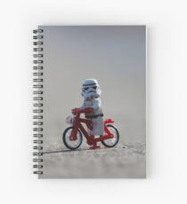 Bicycle Stormtrooper Spiral Notebook