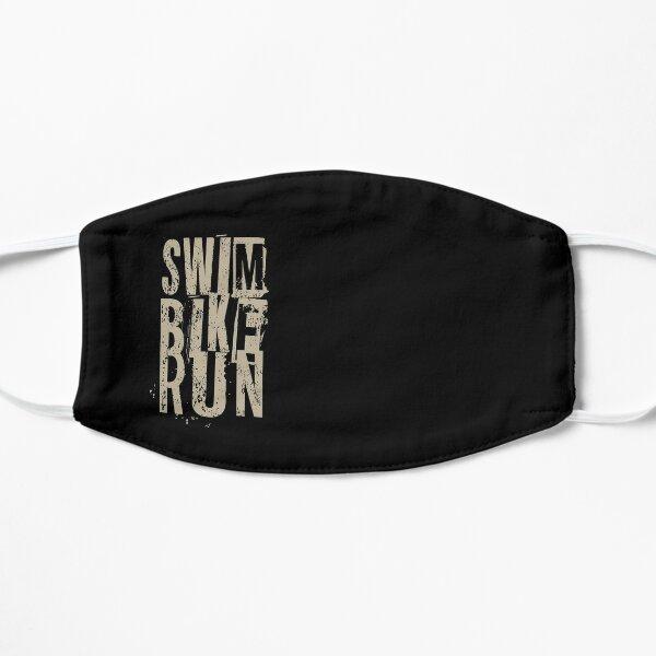 Triathlon - Triathlète de course de vélo de natation Masque sans plis