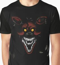 Five Nights at Freddy's - Fnaf 4 - Nightmare Foxy Graphic T-Shirt
