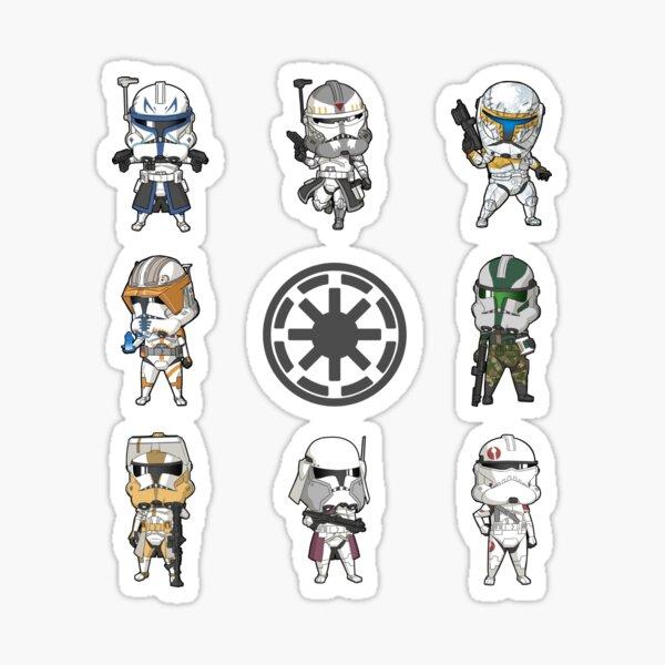 Mini Captain and Commanders Sticker
