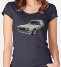 Illustrated HZ Holden Panel Van - Chamois Women's Fitted Scoop T-Shirt
