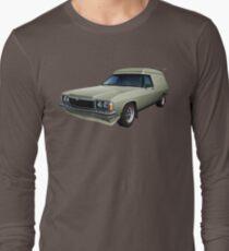 Illustrated HZ Holden Panel Van - Chamois Long Sleeve T-Shirt