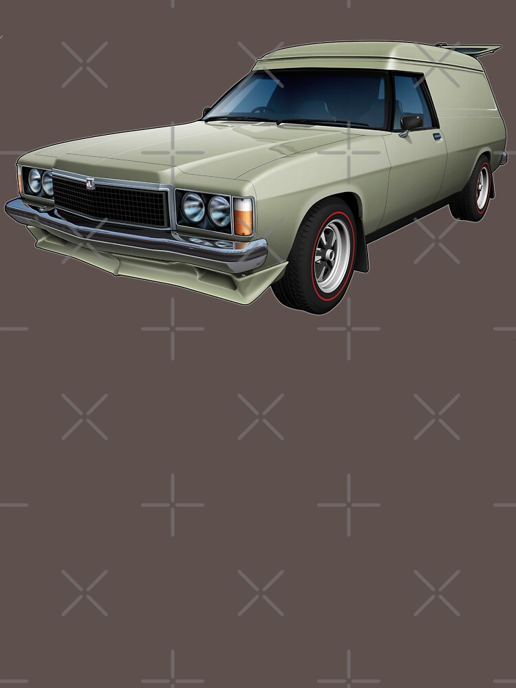 Illustrated HZ Holden Panel Van - Chamois by tshirtgarage