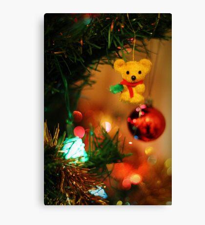 Christmas Tree Decorations Canvas Print