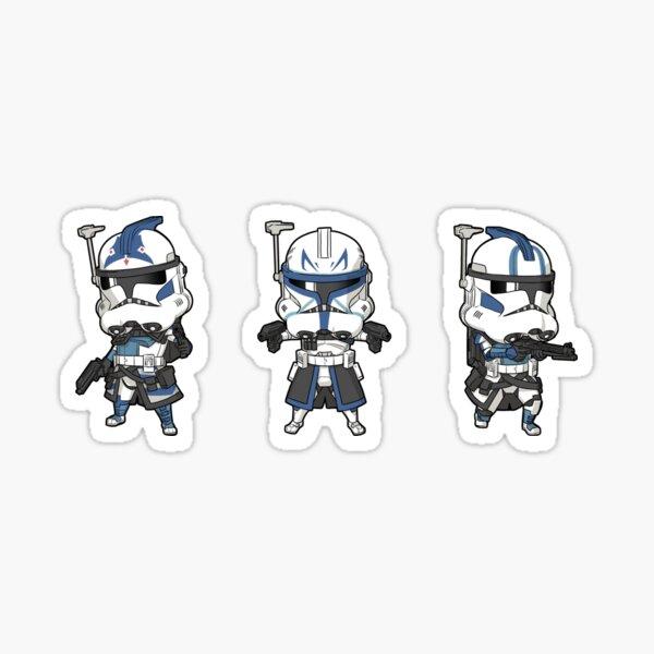 Mini Rex, Fives, Echo Sticker