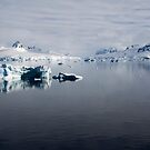 Reflecting on Antarctica 077 by Karl David Hill