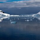 Reflecting on Antarctica 084 by Karl David Hill