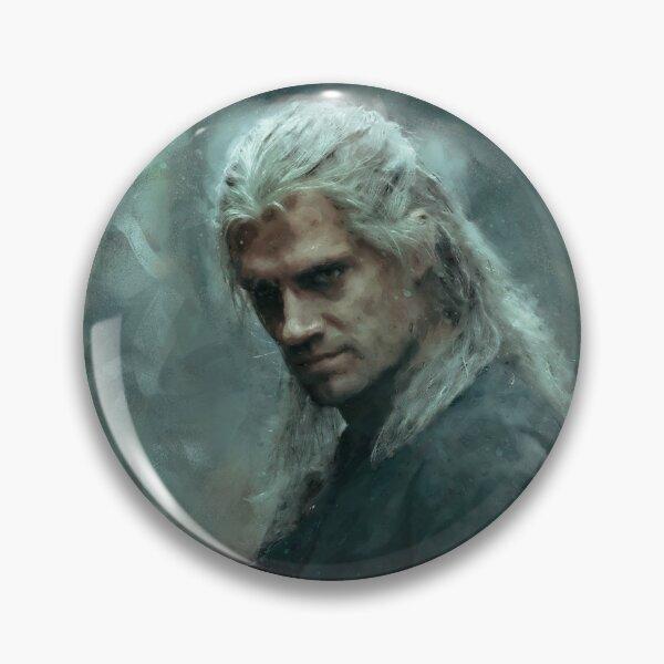 Geralt of Rivia | Henry Caville | The Witcher TV Show | The Witcher Netflix | Fine Art | Art Print | Digital Painting Pin