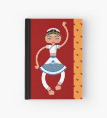 Indian dancer Hardcover Journal