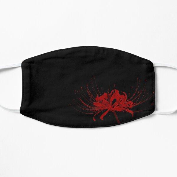 Lis araignée avec fond noir Masque sans plis