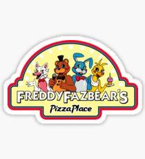 Five Nights at Freddy's - FNAF 2 - Freddy Fazbear's Logo  Sticker
