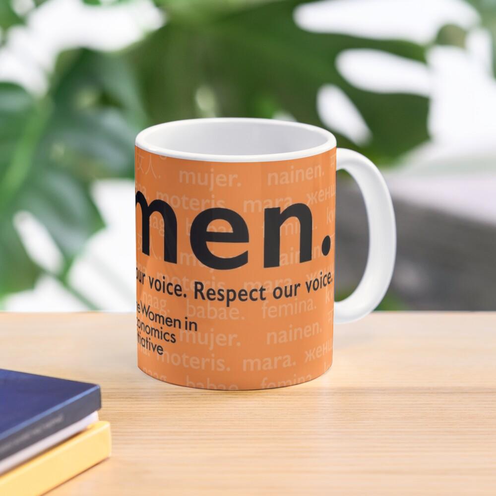 Voices in Orange Mug