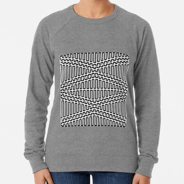 Scientific, Artistic, and Psychedelic Prints on Awesome Products Lightweight Sweatshirt