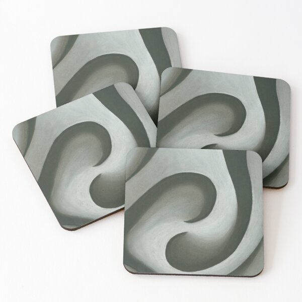 Charcoal Balance Coasters (Set of 4)