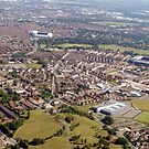 Anfield & Goodison Aerial photo by JMaxFly