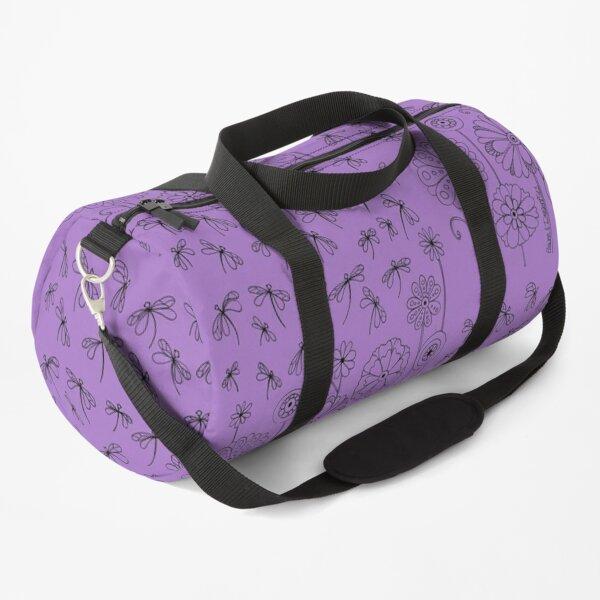 Flowers & Dragonflies Duffle Bag