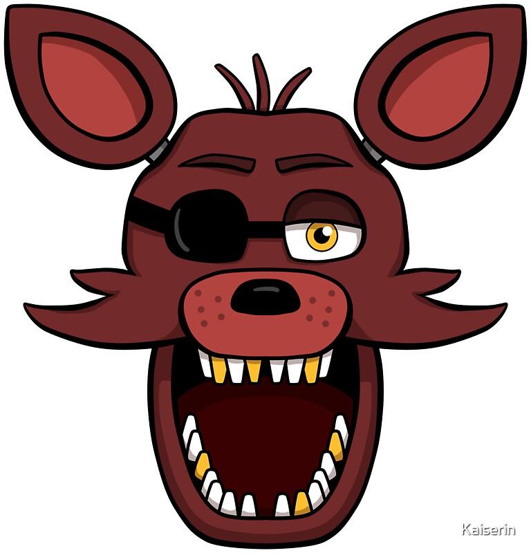 foxy face Fnaf