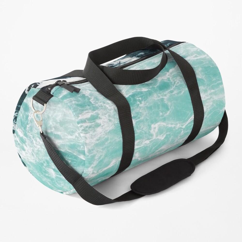 Blue Ocean Summer Beach Waves Duffle Bag