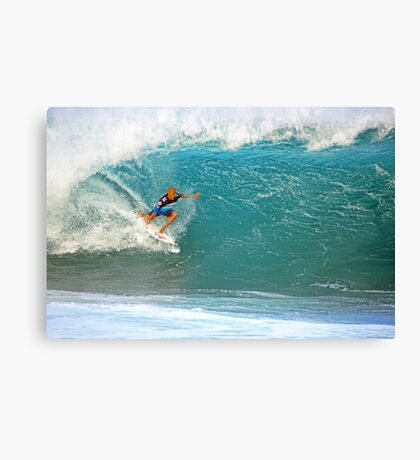 Kelly Slater's Pipe Canvas Print