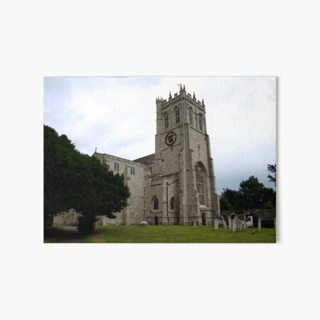 Christchurch Priory Art Board Print