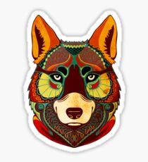 The Wolf Sticker