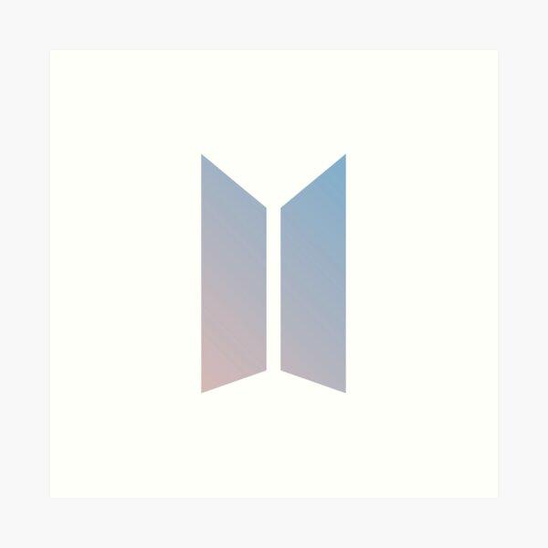 Logotipo BTS (color) Lámina artística