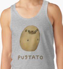 Pugtato Tanktop für Männer