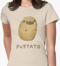 Pugtato Women's Fitted T-Shirt