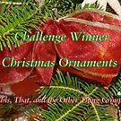 Banner for Challenge Winner - Chirstmas Ornaments by quiltmaker