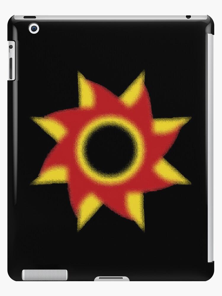 WeepingClan Emblem iPad Case (Large Black) by WeepingHoney