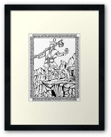 TAROT: The Fool by ZugArt