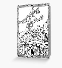 TAROT: The Fool Greeting Card