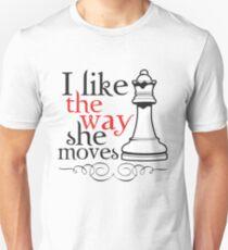 I Like The Way She Moves Unisex T-Shirt
