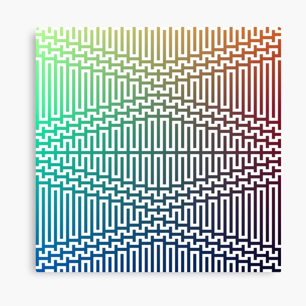 Scientific, Artistic, and Psychedelic Prints on Awesome Products Canvas Print